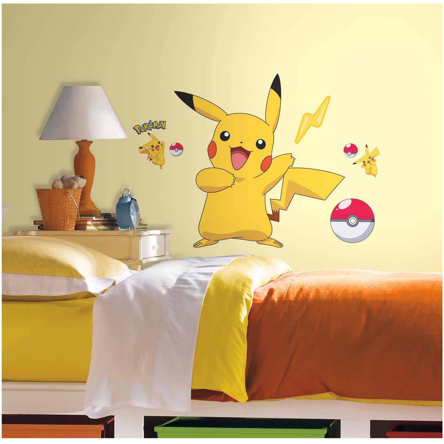 Pokemon Pikachu Peel And Stick Wall Decals Part 13