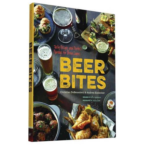 Beer Bites : Tasty Recipes and Perfect Pairings for Brew Lovers