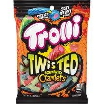 Gummy Candies: Trolli Twisted Sour Brite Crawlers