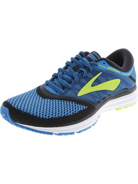 a7b5a897ff6 Product Image Brooks Men s Revel Methyl Blue   Lime Popsicle Black  Ankle-High Mesh Running Shoe -