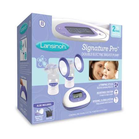 Lansinoh Signature Pro Double Electric Breast Pump  1 Pump And Accessories
