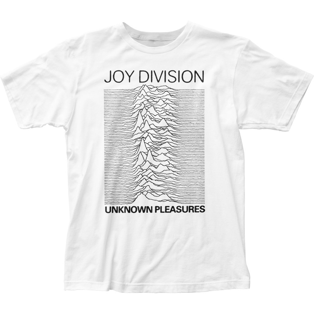 Joy Division English Rock Band Unknown Pleasures Adult Fitted Jersey T-Shirt Tee - image 1 de 1