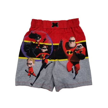 430416ae7c119 Disney - The Incredibles Disney Pixar Toddler Boys Swim Trunks Board Shorts  - Walmart.com
