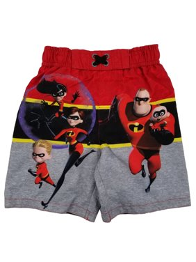 de17068023 Product Image The Incredibles Disney Pixar Toddler Boys Swim Trunks Board  Shorts