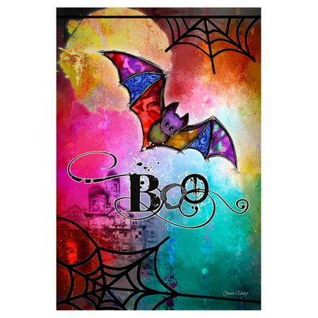 Bat Garden - Toland Home Garden Boo Bat Flag