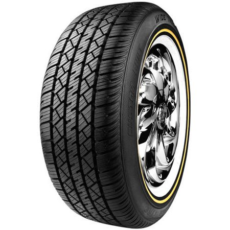 Vogue Custom Built Radial Wide Trac Touring Tyre II 225/60R16 98 H Tire (Renew Vogue)