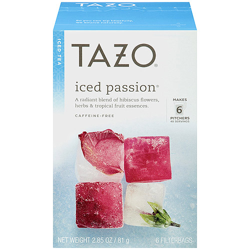 Tazo Iced Passion Tea, 6ct