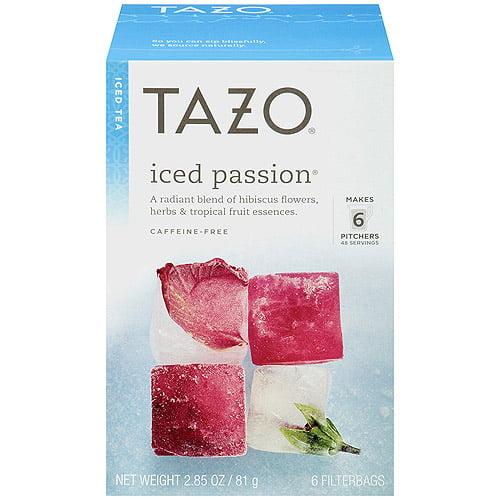 Tazo Iced Passion Tea, 6ct