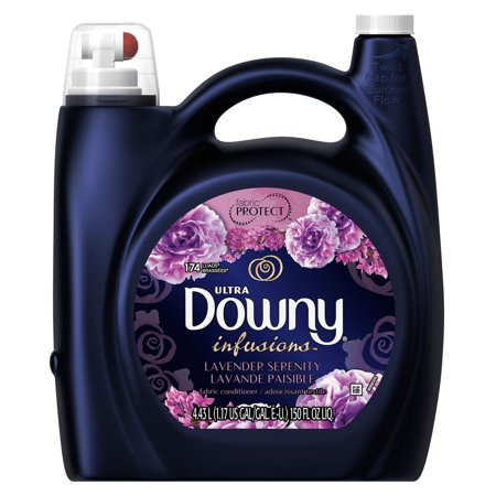 Serenity Lavender - Product of Ultra Downy Infusions Lavender Serenity Liquid Fabric Conditioner, 150 fl.-oz. [Biz Discount]