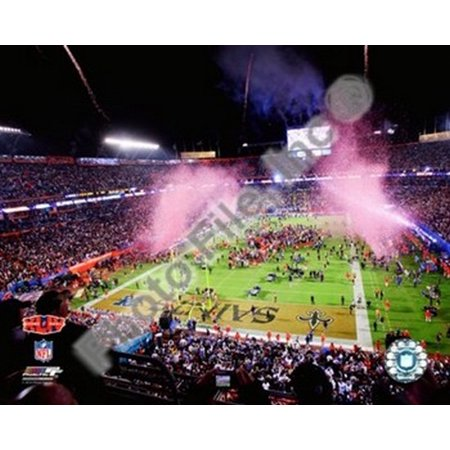 Sun Life Stadium Super Bowl XLIV Post Game Celebration