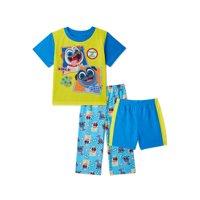 Puppy Dog Pals Toddler Boys Pajamas, 3-Piece Set, Sizes 2T-5T