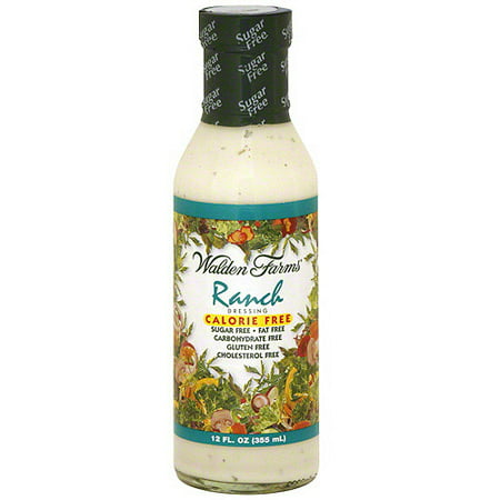 Walden Farms Calorie-Free Ranch Dressing, 12 oz (Pack of 6)