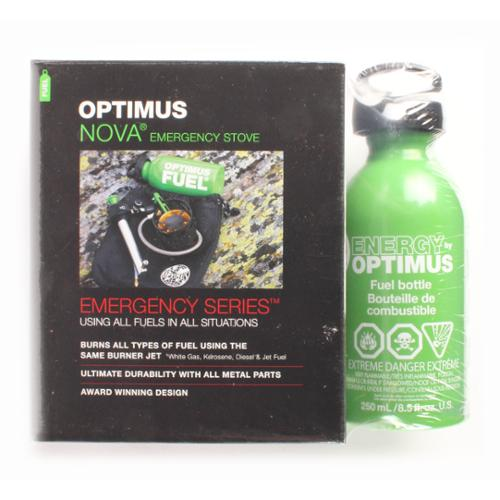 Optimus 8018985 Camping/Hiking Camp Stove w/0.4L Fuel Bottle