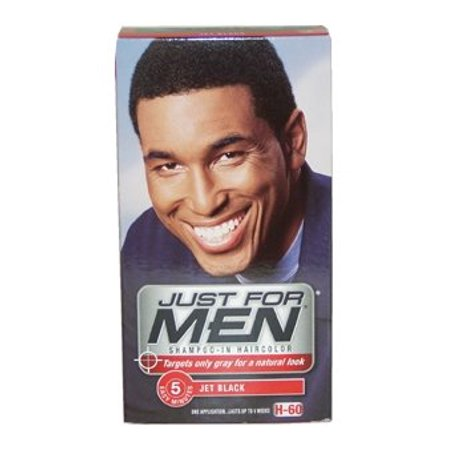 9c227e7a1 Just For Men Shampoo-In Hair Color - Jet Black