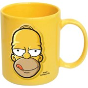 Simpsons Homer Face Embossed 20 oz Ceramic Mug