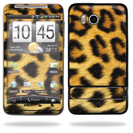 Mightyskins Protective Vinyl Skin Deca Cover For Htc Thunderbolt 4G Verizon Cell Phone Wrap Sticker Skins   Cheetah