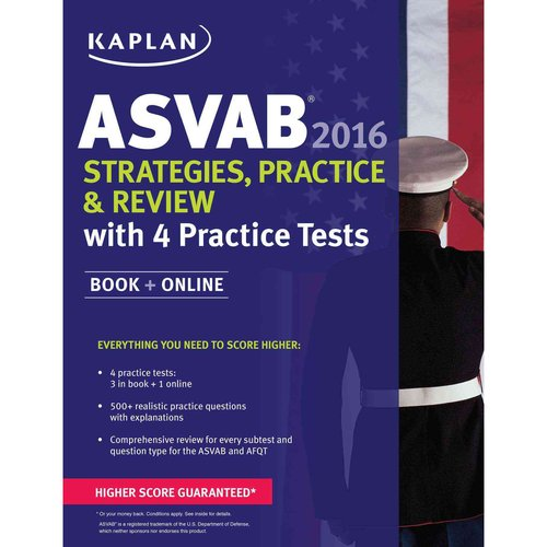 Kaplan ASVAB Strategies, Practice & Review 2016: With 4 Practice Tests