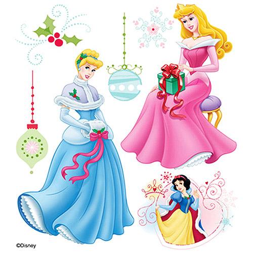 Disney Princess Dimensional Sticker - Christmas