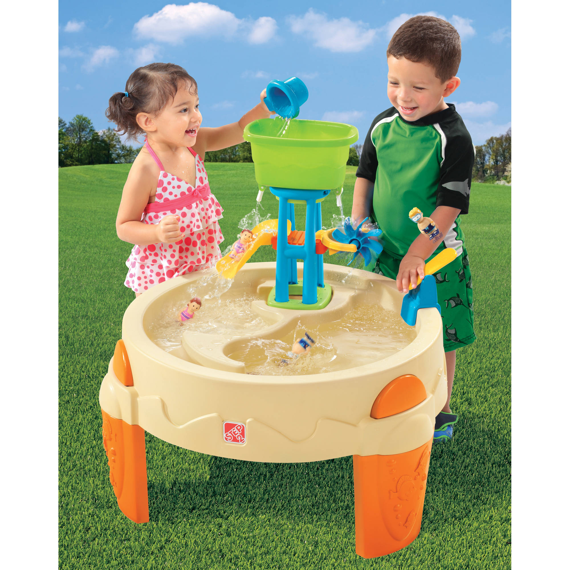 Step2 Big Splash Waterpark Includes 7 Piece Accessory Set