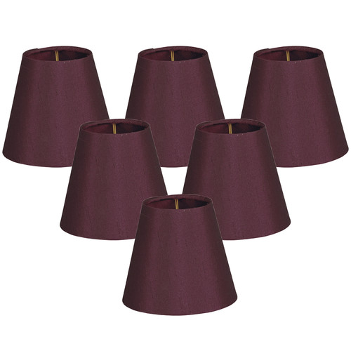 Alcott Hill 6'' Silk Empire Lamp Shade (Set of 6)