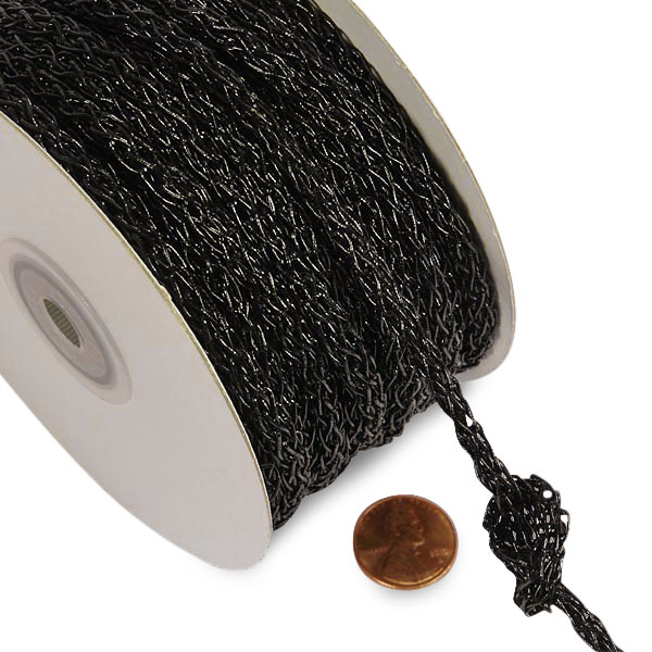 Gold Loose Braided Cord 5mm X 25 Yards    Diameter - 5 mm by Paper Mart