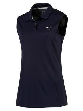 057f710c6520 Product Image Puma Women S Pounce Sleeveless Polo Peacoat Xs