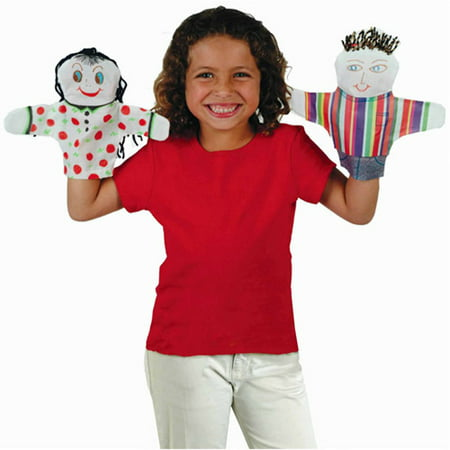 - Color-Me Hand Puppets, Pack of 12
