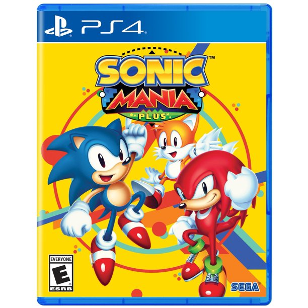 Sonic Mania Plus Sega Playstation 4 010086632286 Walmart Com Walmart Com