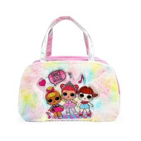 L.O.L. Surprise! Fur Rainbow Duffel Bag for Girls L.O.L