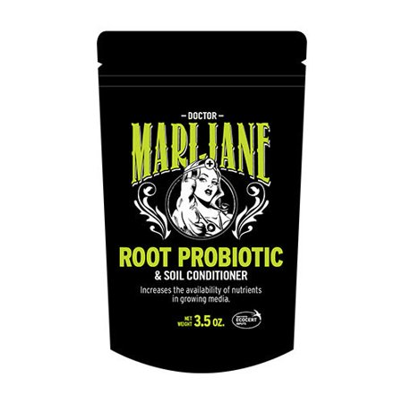 DOCTOR MARIJANE Hydroponics, Root Probiotic, Soil Conditioner, Soil Amendment. Increases the availability of Nutrients in Growing Media. Mix with Media, Mix with