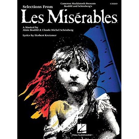 Les Miserables : Instrumental Solos for Cello