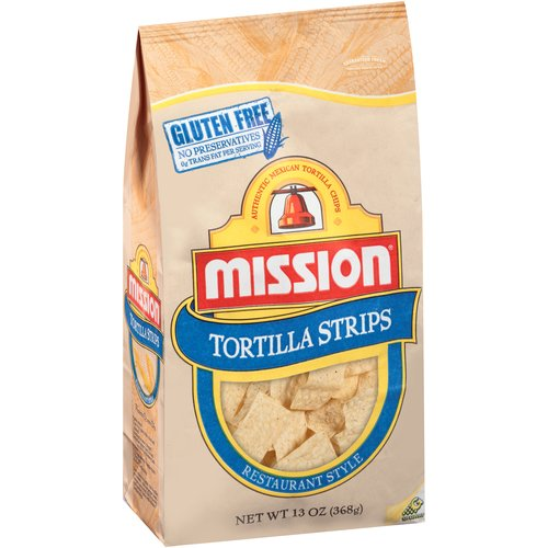 Mission Tortilla Strips, 13 oz