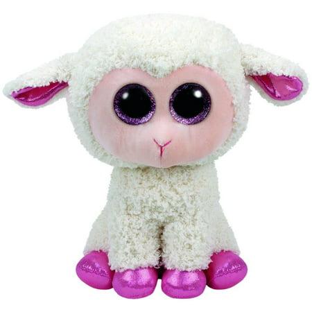 Twinkle Lamb Beanie Boo Medium 13 inch - Stuffed Animal by Ty (37091) (Beanie Boo Medium Fox)