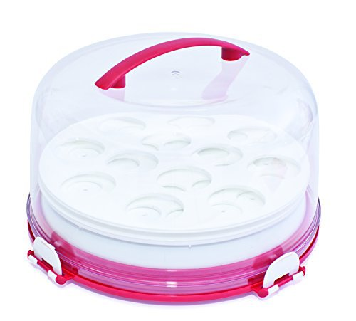 Mrs. Fields by Love Cooking 12 Cup Dessert Diva Carrier