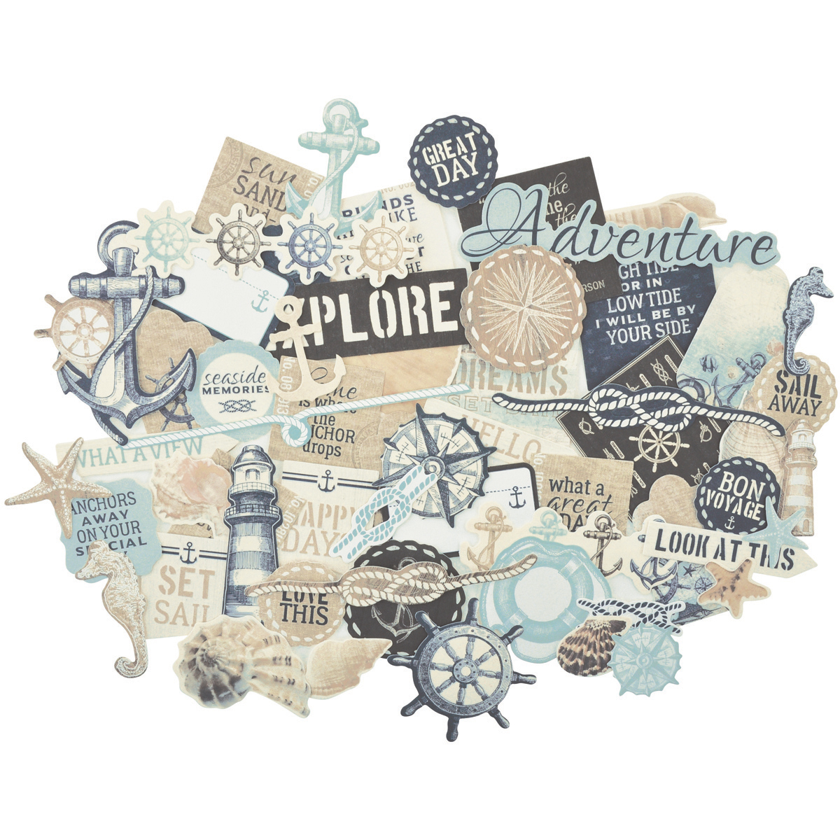 High Tide Collectables Cardstock Die-Cuts-