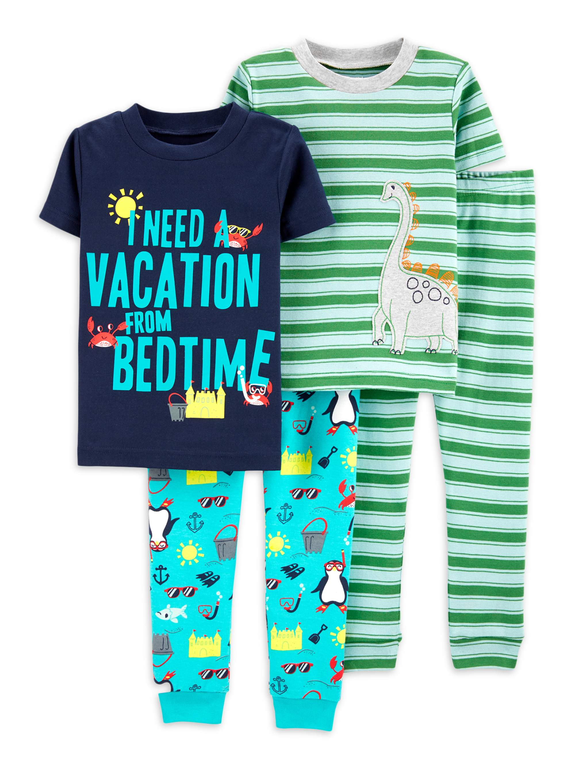 BOYS CHILL ZONE PYJAMAS PJS AGE 9-10 YEARS GIFT PRESENT SHORT /& T-SHIRT SUMMER