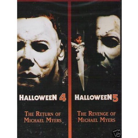 HALLOWEEN 4/HALLOWEEN 5 (DVD) - Future Halloween Dates