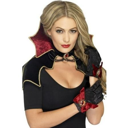 Vampire Costume Kit Smiffys 43006 Black/Red - Smiffys Halloween Costumes