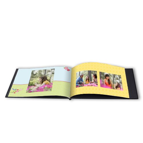 12x12 Hard Custom Cover Photo Book extra page