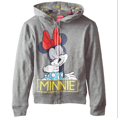Minnie Mouse Girls Reversible Hoodie