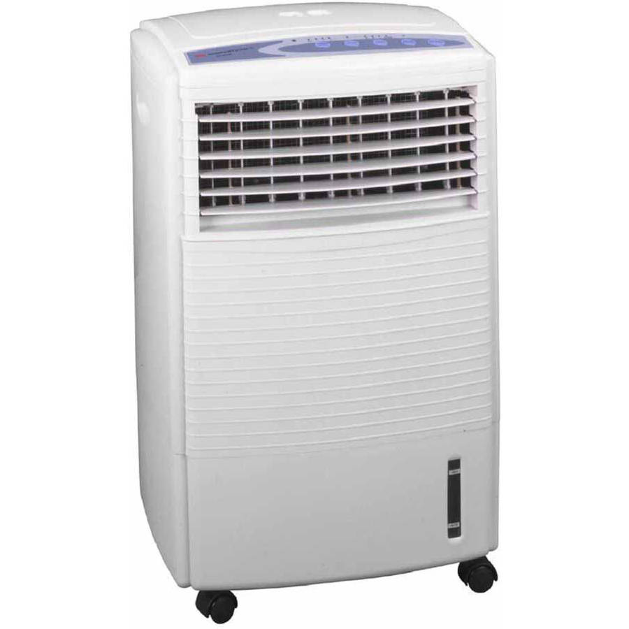 Sunpentown Evaporative Air Cooler with Ionizer, White