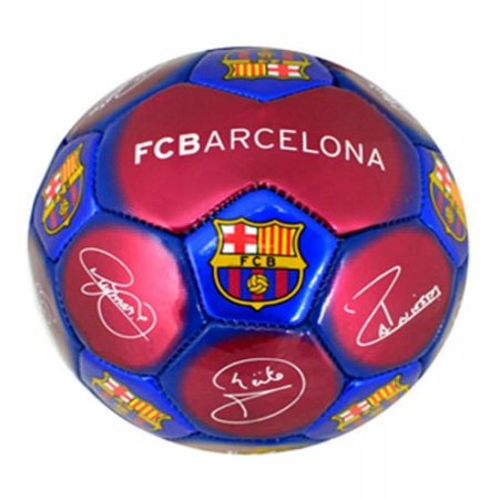 - NEW FC BARCELONA FCB MINI SIGNATURE FOOTBALL SIZE 1 (OFFICIAL CLUB MERCHANDISE)