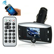LCD Wireless FM Transmitter Car MP3 Player SD TF Card USB Drive Remote