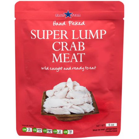 Blue Star Super Lump Crab Meat - 6 oz