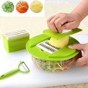 Lovehome Slicer Cutter Chopper Pulp Fruit Vegetable Veg Peeler Dicer