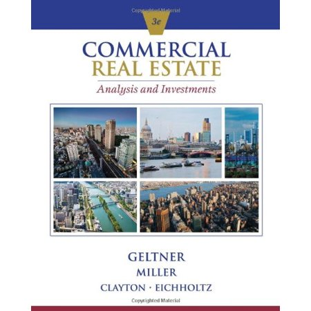 Commercial Real Estate Analysis And Investments  W  Cd   9781133108825  Hardcover  3