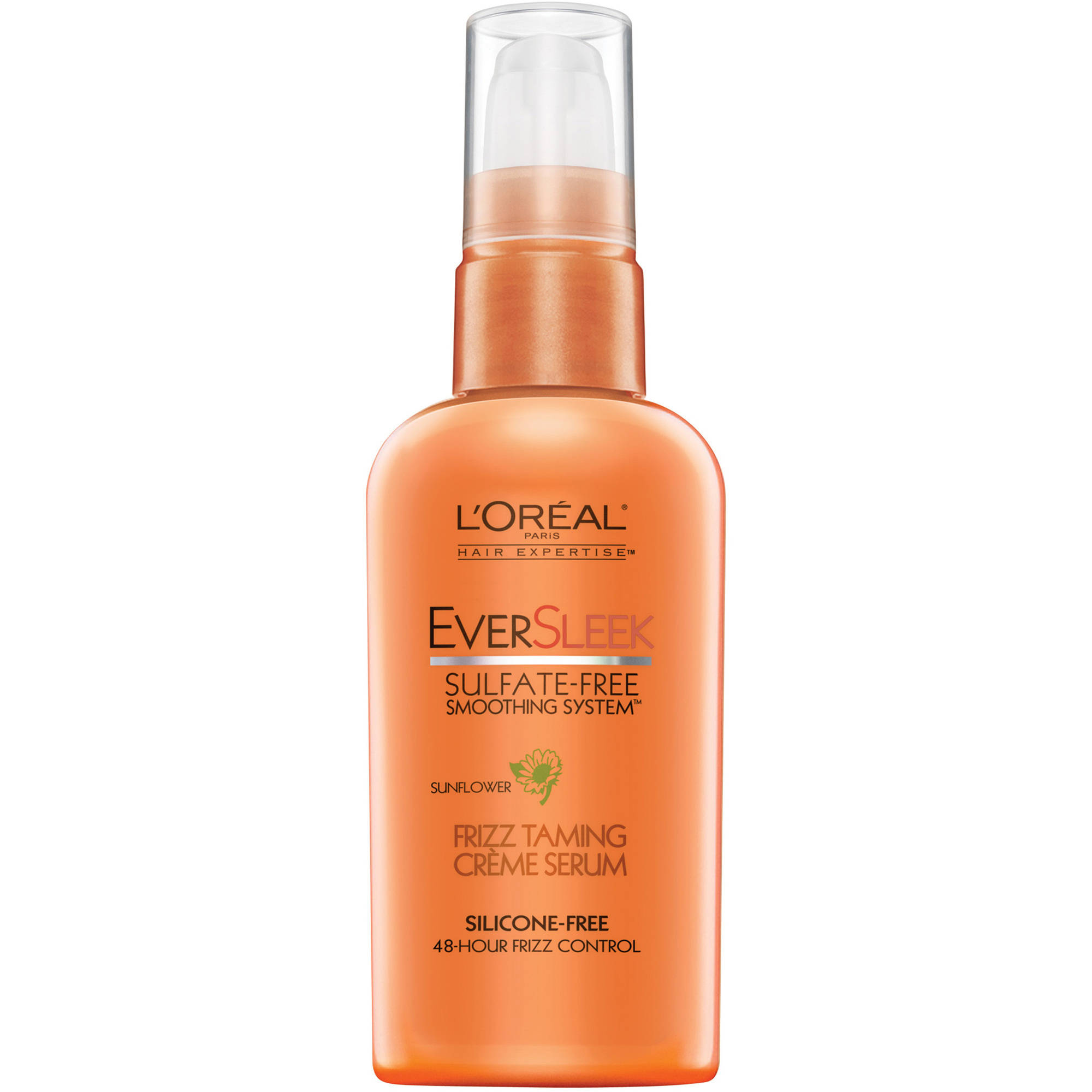 L'Oreal Paris EverSleek Sulfate Free Frizz Taming Creme Serum