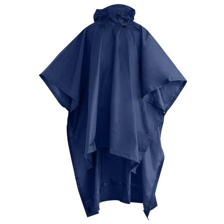 Adult Storm Backpacker Rain Poncho Double Storm Rain Cover