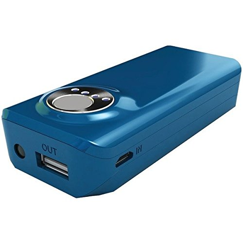 Hipstreet Hs-pb2a06-bl 4,000mah 2.1a Blue Power Bank