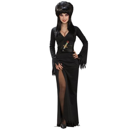 Elvira Adult Halloween Costume One Size (Homemade Elvira Halloween Costume)